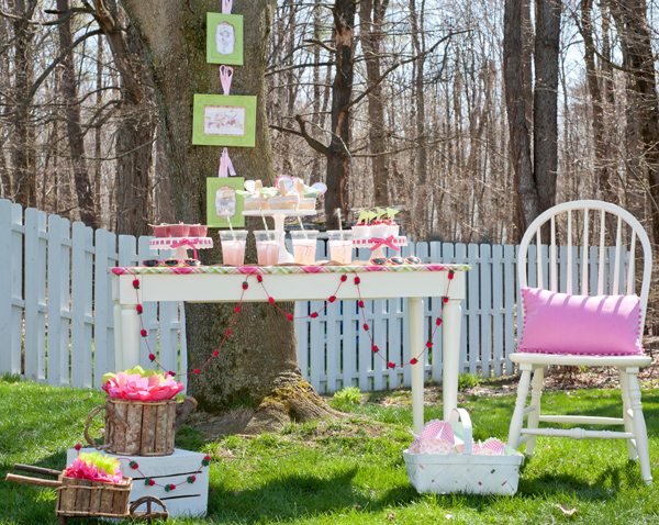Very Berry Play Date via Kara's Party Ideas | Kara'sPartyIdeas.com #very #berry #play #date #supplies #ideas (9)