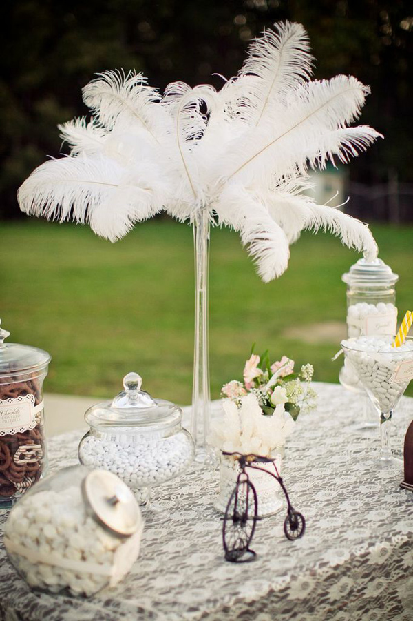 Vintage Backyard Wedding via Kara's Party Ideas | Kara'sPartyIdeas.com #vintage #backyard #wedding #supplies #ideas (8)