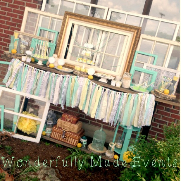 Vintage Bridal Shower with LOTS of cute Ideas via Kara's Party Ideas | Kara'sPartyIdeas.com #vintage #bridal #shower #supplies #ideas