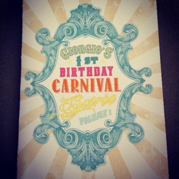 Vintage Carnival Birthday Party via Kara's Party Ideas | Kara'sPartyIdeas.com #vintage #carnival #birthday #party #supplies #ideas (21)