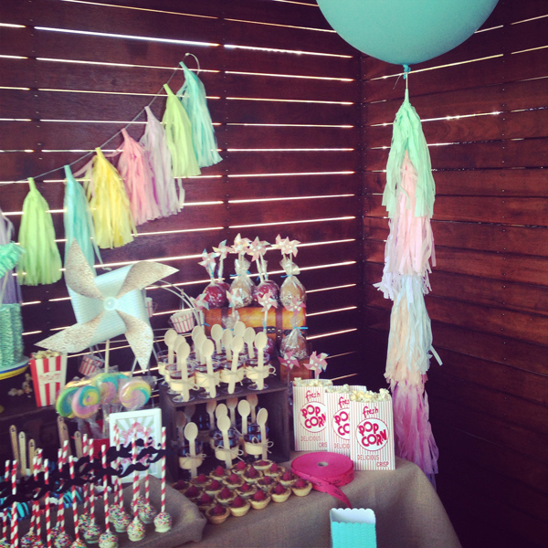 Karas Party Ideas Vintage Carnival 1st Birthday Party