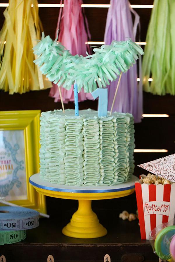 Vintage Carnival Birthday Party via Kara's Party Ideas | Kara'sPartyIdeas.com #vintage #carnival #birthday #party #supplies #ideas (31)