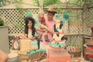 Vintage Cowboy First Birthday Party via Kara's Party Ideas | Kara'sPartyIdeas.com #vintage #cowboy #first #birthday #party #supplies #ideas (35)