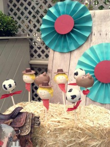 Vintage Cowboy First Birthday Party via Kara's Party Ideas | Kara'sPartyIdeas.com #vintage #cowboy #first #birthday #party #supplies #ideas (27)