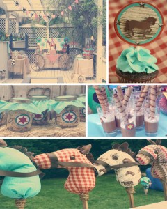 Vintage Cowboy First Birthday Party with TONS of CUTE Ideas via Kara's Party Ideas | Kara'sPartyIdeas.com #vintage #cowboy #first #birthday #party #supplies #ideas