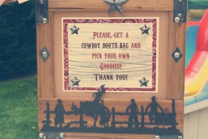 Vintage Cowboy First Birthday Party via Kara's Party Ideas | Kara'sPartyIdeas.com #vintage #cowboy #first #birthday #party #supplies #ideas (25)