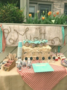 Vintage Cowboy First Birthday Party via Kara's Party Ideas | Kara'sPartyIdeas.com #vintage #cowboy #first #birthday #party #supplies #ideas (11)