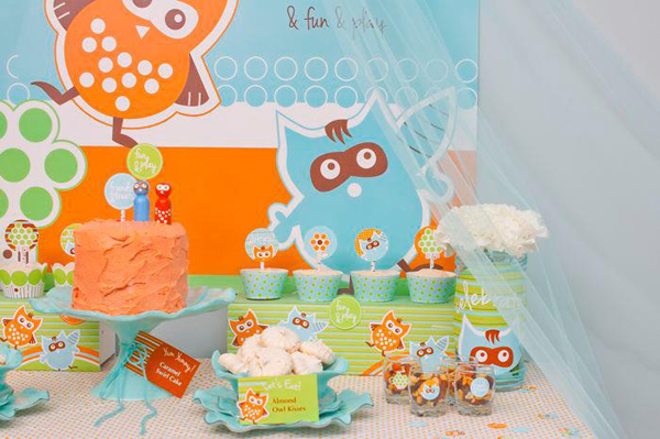 Woodland Creatures Birthday Party via Kara's Party Ideas | Kara'sPartyIdeas.com #woodland #creatures #birthday #party #supplies #ideas (10)