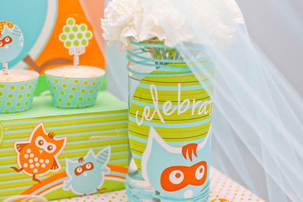 Woodland Creatures Birthday Party via Kara's Party Ideas | Kara'sPartyIdeas.com #woodland #creatures #birthday #party #supplies #ideas (14)