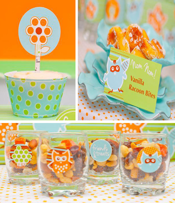 Woodland Creatures Birthday Party with Lots of Ideas via Kara's Party Ideas | Kara'sPartyIdeas.com #woodland #creatures #birthday #party #supplies #ideas