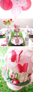 Woodland Fairy Pixie themed birthday party with SO MANY CUTE IDEAS! Via Kara's Party Ideas KarasPartyIdeas.com #fairy #woodland #pixie #themed #birthday #party #cake #idea #supplies #decor #idea
