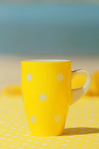 Yellow Polka Dot Bikini Party via Kara's Party Ideas | Kara'sPartyIdeas.com #yellow #polka #dot #bikini #party #supplies #ideas (15)