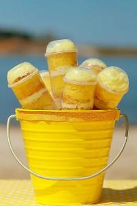 Yellow Polka Dot Bikini Party via Kara's Party Ideas   Kara'sPartyIdeas.com #yellow #polka #dot #bikini #party #supplies #ideas (11)