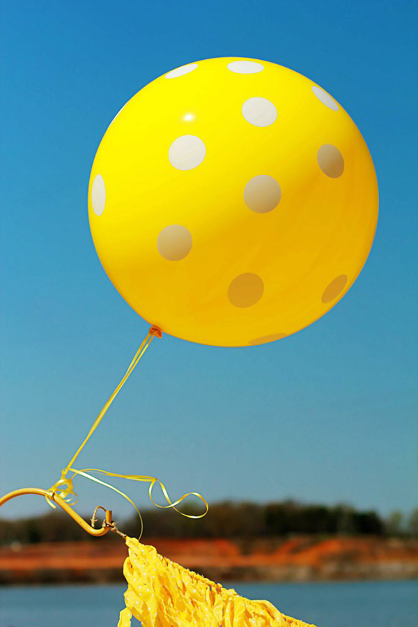 Yellow Polka Dot Bikini Party via Kara's Party Ideas | Kara'sPartyIdeas.com #yellow #polka #dot #bikini #party #supplies #ideas (21)