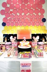 Girly Art Party via KarasPartyIdeas.com #girl #art #party #idea #decorations (21)