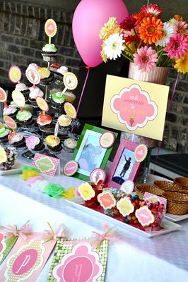 Kara 39 S Party Ideas Ice Cream Swim Birthday Party Kara 39 S Party Ideas