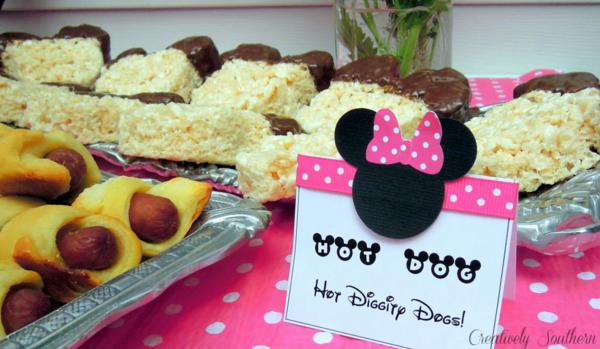 Minnie Mouse Birthday Party via Kara's Party Ideas | KarasPartyIdeas.com #minnie #mouse #disney #girl #birthday #party #ideas (1)