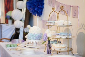 Hydrangea Garden Birthday Party via KarasPartyIdeas.com #hydrangea #birthday #party #idea (39)