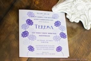 Hydrangea Garden Birthday Party via KarasPartyIdeas.com #hydrangea #birthday #party #idea (55)