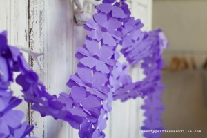 Hydrangea Garden Birthday Party via KarasPartyIdeas.com #hydrangea #birthday #party #idea (14)
