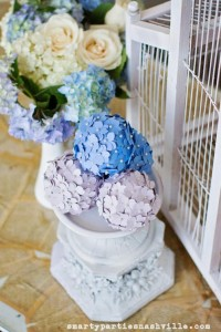 Hydrangea Garden Birthday Party via KarasPartyIdeas.com #hydrangea #birthday #party #idea (52)