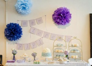 Hydrangea Garden Birthday Party via KarasPartyIdeas.com #hydrangea #birthday #party #idea (50)