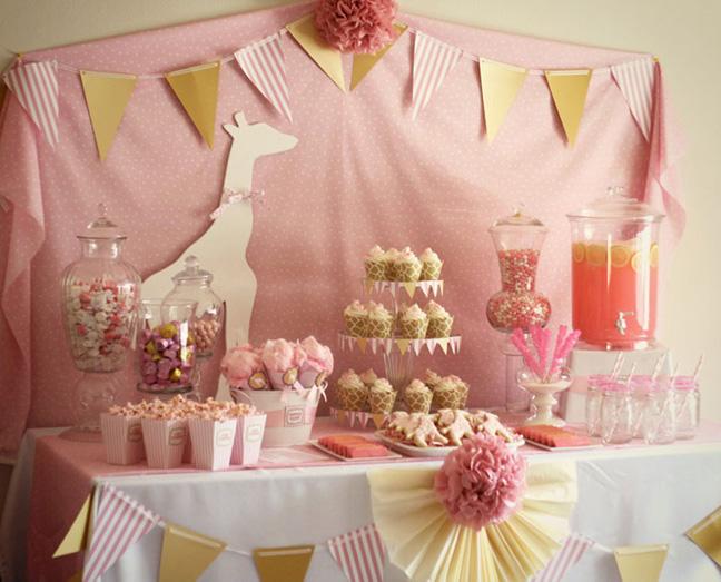 Kara S Party Ideas Pink Giraffe Baby Shower Party Kara S