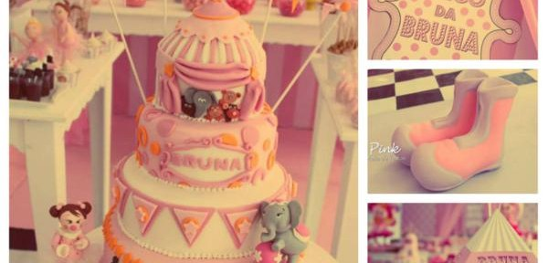 Girly Circus Party with TONS of Circus Ideas via Kara's Party Ideas | KarasPartyIdeas.com #girly #circus #carnival #party #ideas