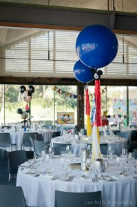 Mickey Mouse Birthday Party via Kara's Party Ideas #MickeyMouse #party #planning #FirstBirthday #idea #PartyDecorations (27)