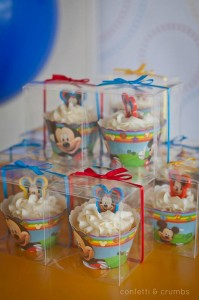 Mickey Mouse Birthday Party via Kara's Party Ideas #MickeyMouse #party #planning #FirstBirthday #idea #PartyDecorations (15)