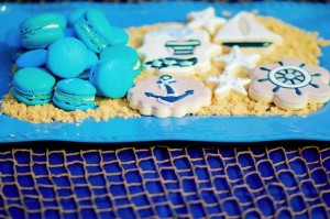 Nautical themed birthday Party for Pottery Barn via Kara's Party Ideas KarasPartyIdeas.com (24)