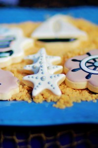 Nautical themed birthday Party for Pottery Barn via Kara's Party Ideas KarasPartyIdeas.com (20)