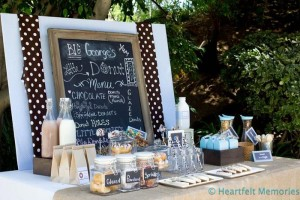 Milk & Doughnuts Party via Kara's Party Ideas #MilkAndDoughnuts #birthday #party #planning #idea #decorations (4)