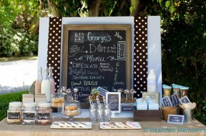 Milk & Doughnuts Party via Kara's Party Ideas #MilkAndDoughnuts #birthday #party #planning #idea #decorations (29)