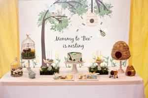 Birds and Bees Baby Shower via KarasPartyIdeas.com #BirdsAndBees #AboutToHatch #BabyShower #party #planning #idea #decorations (41)