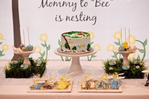 Birds and Bees Baby Shower via KarasPartyIdeas.com #BirdsAndBees #AboutToHatch #BabyShower #party #planning #idea #decorations (35)