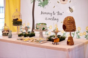Birds and Bees Baby Shower via KarasPartyIdeas.com #BirdsAndBees #AboutToHatch #BabyShower #party #planning #idea #decorations (34)