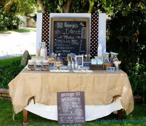 Milk & Doughnuts Party via Kara's Party Ideas #MilkAndDoughnuts #birthday #party #planning #idea #decorations (32)