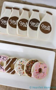 Milk & Doughnuts Party via Kara's Party Ideas #MilkAndDoughnuts #birthday #party #planning #idea #decorations (14)