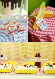 Banana Split Ice Cream Party with tons of ideas! Via Kara's Party Ideas KarasPartyIdeas.com