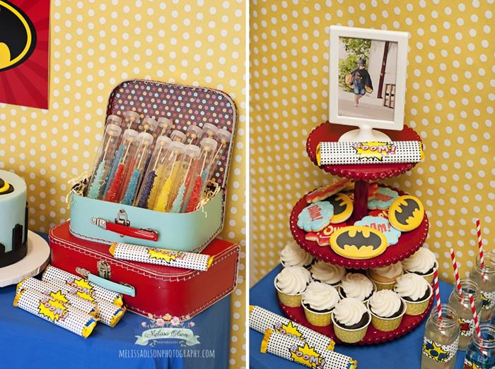 Kara 39 s party ideas batman birthday party via kara 39 s party for 5th birthday decoration ideas