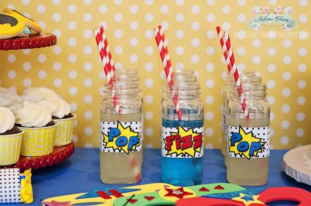 Batman Party via Kara's Party Ideas #party #planning #idea #decorations #boy (2)