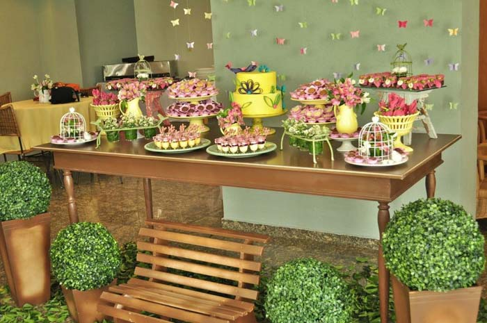 Kara S Party Ideas Butterfly Garden Birthday Party