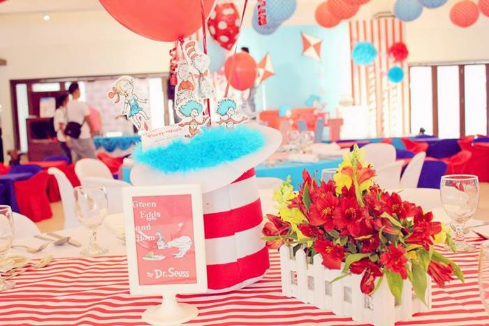 kara s party ideas cat in the hat party planning ideas supplies idea