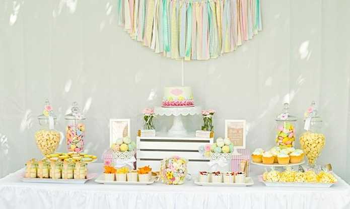 Kara S Party Ideas Cute As A Button Birthday Party