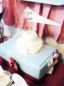 Vintage Chic 1st Birthday Party via Kara's Party Ideas #vintage #Shabby #Chic #FirstBirthday #PartyIdea #Supplies (19)