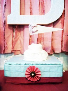 Vintage Chic 1st Birthday Party via Kara's Party Ideas #vintage #Shabby #Chic #FirstBirthday #PartyIdea #Supplies (12)