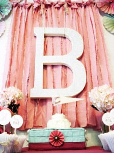 Vintage Chic 1st Birthday Party via Kara's Party Ideas #vintage #Shabby #Chic #FirstBirthday #PartyIdea #Supplies (11)