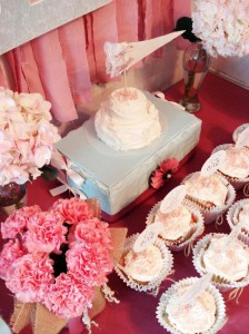 Vintage Chic 1st Birthday Party via Kara's Party Ideas #vintage #Shabby #Chic #FirstBirthday #PartyIdea #Supplies (5)