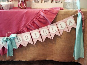Vintage Chic 1st Birthday Party via Kara's Party Ideas #vintage #Shabby #Chic #FirstBirthday #PartyIdea #Supplies (3)